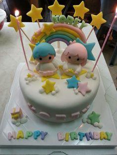 【Handmade】Birthday Cake ★Little Twin Stars★