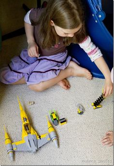 Star Wars has inspired hours of pretend play in our home! Learn more about how you can use LEGO Star Wars to inspire storytelling. Sponsored post.