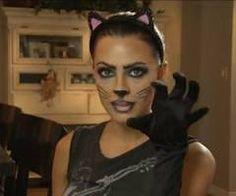 Cat face paint on Pinterest | Cute Kids, Black Cats and Fur