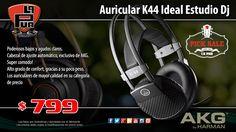 La Púa San Miguel: PICK SALE - Auricular AKG K44 Ideal Estudio Dj