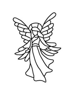 Stained Glass Angel Patterns | Angel pattern