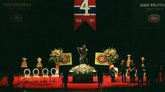 Classy Habs Funeral for M. Jean Béliveau.  (Photo: CTV News)  via @AATHabs