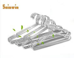Sainwin 10pcs/lot Thick 3.2mm Stainless Steel  Hangers for Clothes Pegs Adults & Children Stainless Steel Hangers - ICON2 Luxury Designer Fixures  Sainwin #10pcs/lot #Thick #3.2mm #Stainless #Steel # #Hangers #for #Clothes #Pegs #Adults #& #Children #Stai