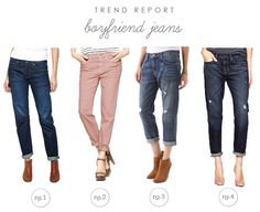 maybe I need these?  Trend Report : Boyfriend Jeans | Hellobee