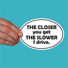 Bumper Sticker -