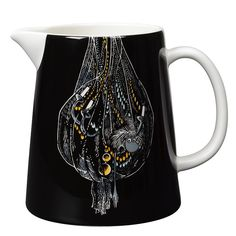 Black pitcher features the Ancestor. It's beautifully illustrated by Arabia…