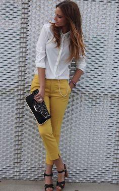 be48370590 22 mejores imágenes de pantalones mostaza