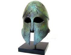 Spartan Helmet from Hellenic-Art Learn More at http://www.hellenic-art.com/