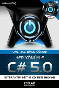 Volkan Aktaş - Her Yönüyle C#  http://www.kodlab.com/BookDetail.aspx?ID=652