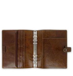 Filofax Malden A5 Leather Organizer Ochre