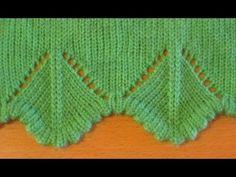 Машинное вязание уголков для оформления края изделия , часть 2 [] #<br/> # #Knit #Lace,<br/> # #Diana,<br/> # #Chevron,<br/> # #Knitting,<br/> # #Of #Agujas<br/>