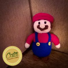 Mario Bros crochet amigurumi