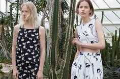 Summer Prints: Zara Offers Up Modern Florals Look Fashion, Fashion Art, Fashion Beauty, Fashion 2015, Female Fashion, Zara Trends, Zara Looks, Spanish Fashion, Summer Prints