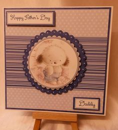 Handmade fathers day card from www.facebook.com/thehandmadestudio. #fathersday #cute #handmade #card #thehandmadestudio  #crafterscavern #hmuk #fabulousfbpages