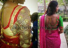 Quarter Sleeves Rich Wedding Blouses | Saree Blouse Patterns