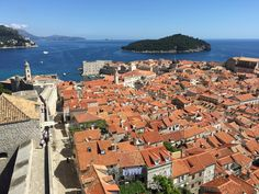 The roofs of Dubrovnik. The pearl of Adriatic is a popular yacht charter destination. Dubrovnik, San Francisco Skyline, Paris Skyline, Pearl, Popular, Travel, Viajes, Bead, Popular Pins