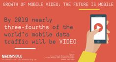 By 2019 an astonishing 72% of mobile traffic will be video content, according to the latest data from the Cisco Visual Networking Index