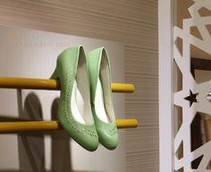 ayakkabı mağaza raf dekorasyonu