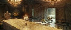 Beauty and the Beast Concept Art by Karl Simon | Concept Art World