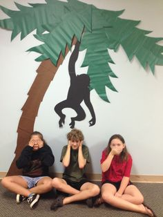 Journey Off The Map VBS: Monkeying Around with Decorations Safari Birthday Party, Jungle Party, Safari Theme, Jungle Safari, Diy Jungle Decorations, Dance Marathon, Dance Themes, Island Theme, Jungle Room