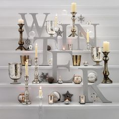 Elegant gold and silver decoration
