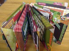 Scrap Yard Chicks-Scrapbooking Workshops & Kits: Recipe Book Project for Fall Workshop Weekend