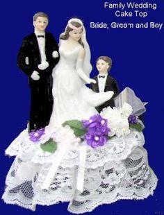 Cake Topper Blended Family WeddingsVow