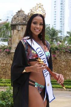 Afro, Miss Colombia, Beauty Women, Saree, Female, Queens, Third, Dresses, Google