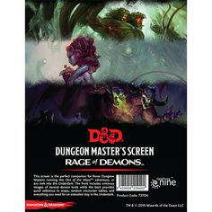 Pdf download dungeon masters screen reincarnated free pdf free dd dungeon masters screen rage of demons fandeluxe Gallery