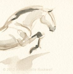 Jumping Horse, by Anna Noelle Rockwell