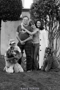 Remembering our fellow poodle lover, Robin Williams. R.I.P.