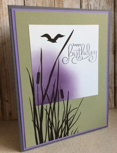 Birthday by card crazy - Cards and Paper Crafts at Splitcoaststampers Masculine Birthday Cards, Birthday Cards For Men, Handmade Birthday Cards, Masculine Cards, Birthday Card Making, Making Greeting Cards, Greeting Cards Handmade, Karten Diy, Stamping Up Cards