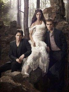 The Vampire Diaries #elena #stefan #damon