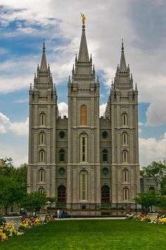 Salt Lake Utah Temple of The Church of Jesus Christ of Latter Day Saints.  I went with my youngest daughter when she went for the first time.