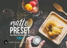 Welcome to our Free Lightroom Presets page! Each week we like to give away a free item from one of our collections so you can try them out. Adobe Photoshop, Photoshop Actions, Presets Do Lightroom, Photoshop For Photographers, Food Photography, Photo Editing, Collage, Pastel, Smoke