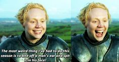 12 Reasons We'd Fight Tormund For Brienne (Or Gwendoline Christie)