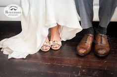 The bride and groom's shoes. San Francisco Wedding Photography at the Winery SF. © Bowerbird Photography, 2013.