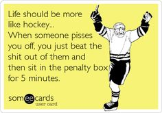 Search results for 'hockey' Ecards from Free and Funny cards and hilarious Posts Satire, Haha Funny, Hilarious, Funny Stuff, Funny Shit, Funny Things, Random Things, Look At You, E Cards