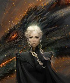 Daenerys Targaryen by Paolo Barbieri