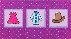 Deutsch lernen: Kleidung (game - jeu de Kim)