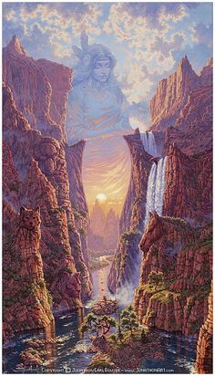 """Mythic Passage"" The Goddess Art of Jonathon Earl Bowser"