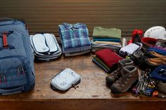 How many days ahead of time do you get your gear ready for your trip?
