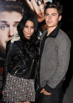 Vanessa Hudgens and Zac Efron at event of Get Him to the Greek