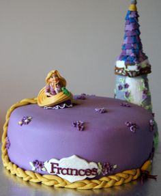 Tangled Cake www.byjojo.co.uk