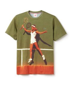 WGSN's sport team love Lacoste L!ve's latest unisex capsule collection featuring homages to their vintage ad campaign of the So sportive! Lacoste, Summer Design, All About Fashion, Vintage Ads, Playing Dress Up, Fashion Addict, Dress To Impress, Graphic Tees, Graphic Prints