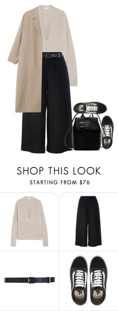 """streeting"" by m4r1n ❤ liked on Polyvore featuring Acne Studios, demoo parkchoonmoo, Maison Boinet, Vans, DKNY, women's clothing, women's fashion, women, female and woman"