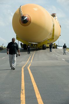 External Tank ET-138 Rolls Out at Michoud Assembly Facility by NASA's Marshall Space Flight Center, via Flickr