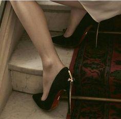 a true Gryffindors daggar high heels Giaro Heels, Stiletto Heels, High Heels, Classy Aesthetic, Red Aesthetic, Aesthetic Pictures, Aesthetic Fashion, Look Fashion, Fashion Shoes