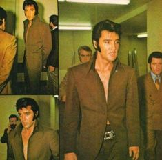 "Elvis in the ""One Button Away From Paradise"" suit."