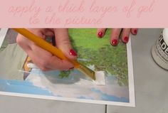 Photo to fabric transfer how to